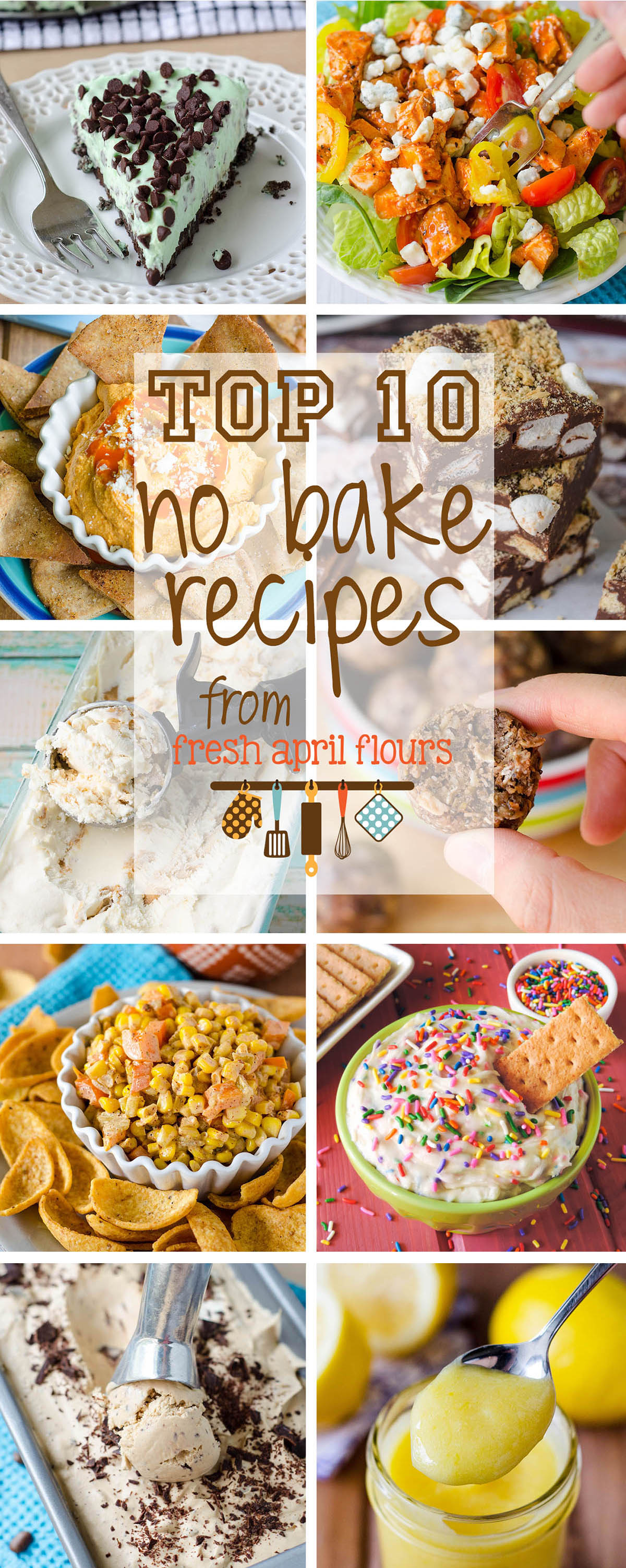 Top 10 No Bake Recipes from Fresh April Flours