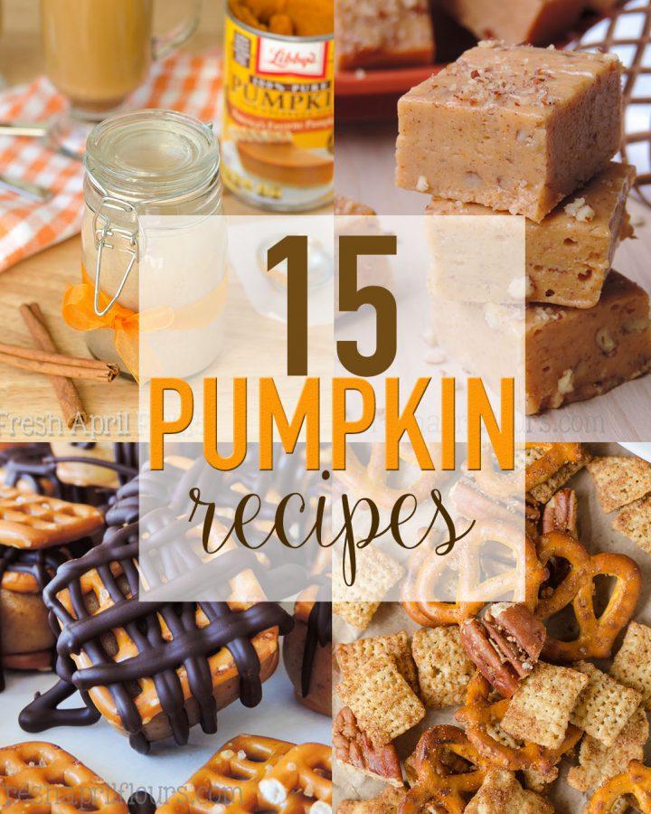 15 Pumpkin Recipes