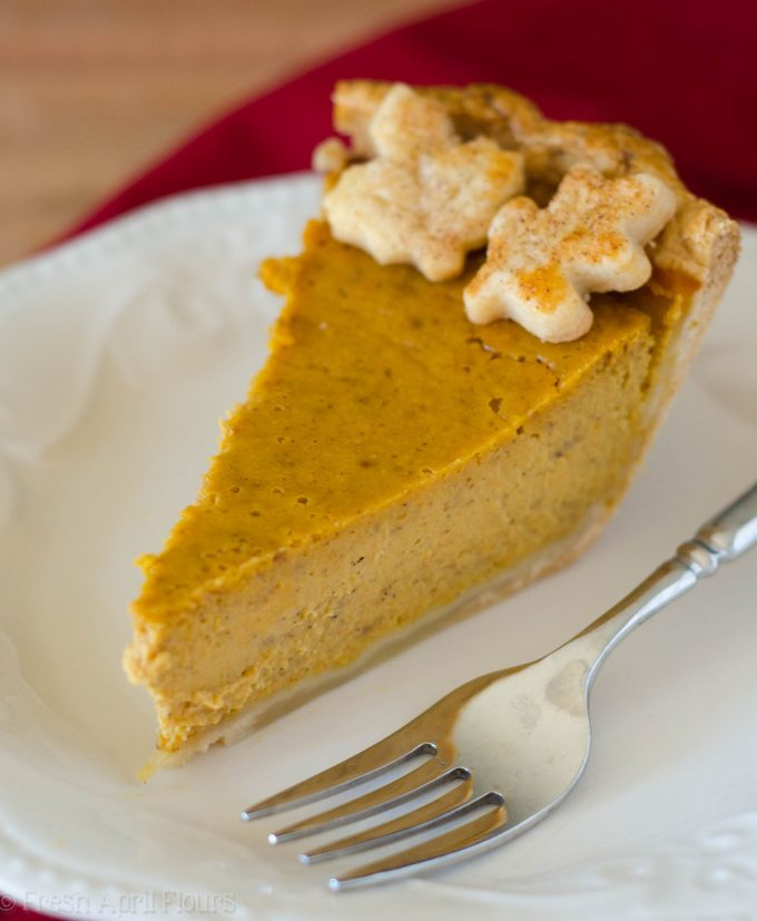 Classic Pumpkin Pie: A simple recipe for my go-to pumpkin pie. Bursting with flavor thanks to a few surprise ingredients, rich, smooth, and made even better baked in my favorite homemade pie crust.