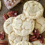 Maple Pecan Goat Cheese Sugar Cookies