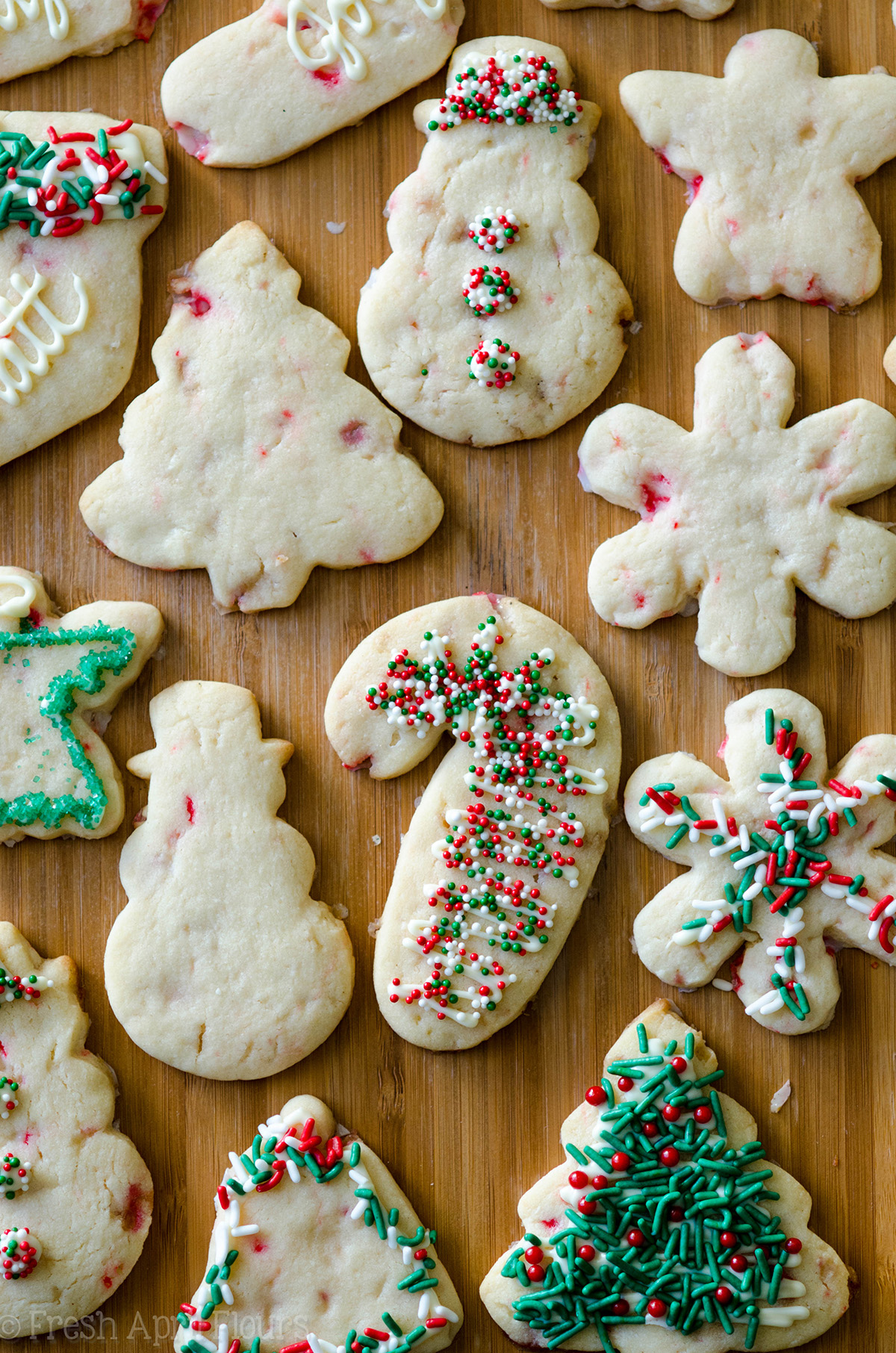 Peppermint Cut Out Sugar Cookies