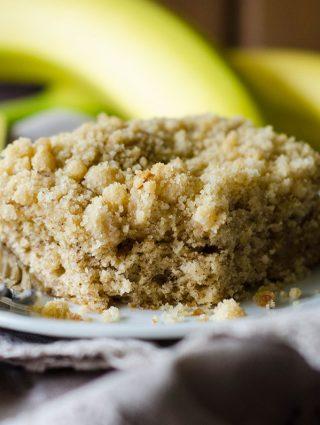 Banana Crumb Snack Cake