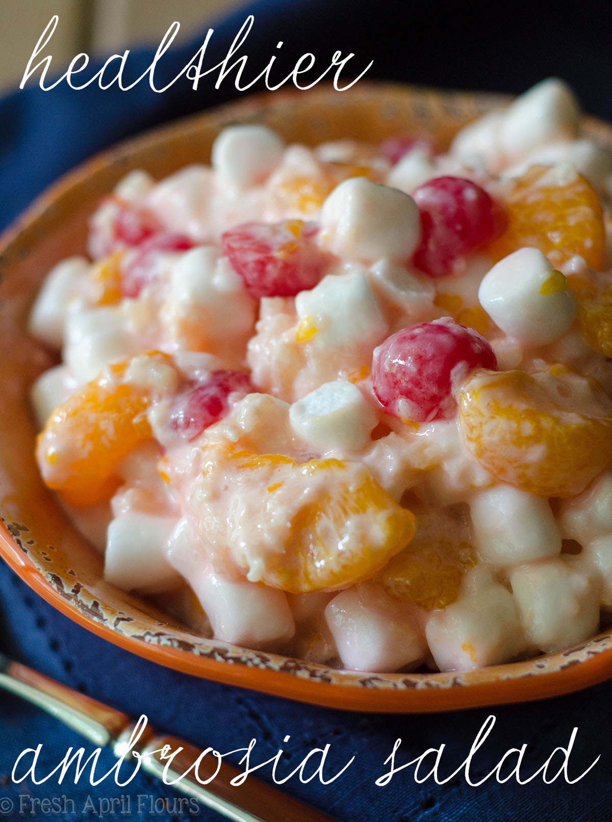 Healthier Ambrosia Salad: A lighter recipe for classic ambrosia fruit salad.