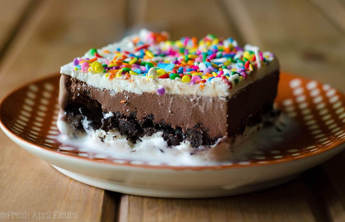 ice cream sheet cake