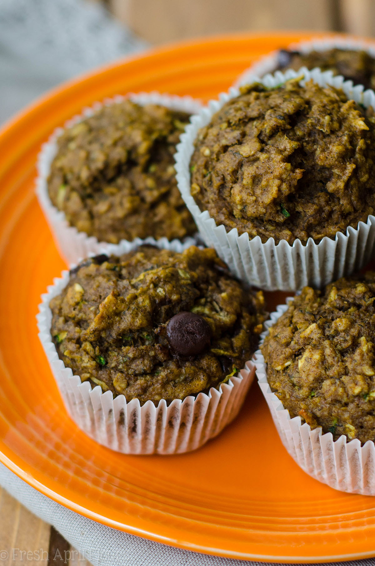 toddler muffins on a plate