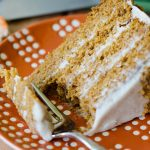 Brown Butter Pumpkin Layer Cake with Maple Cinnamon Cream Cheese Frosting