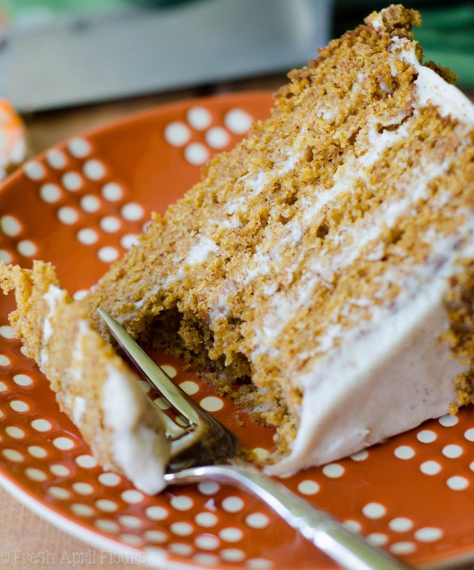 pumpkin layer cake brown butter pumpkin layer cake with maple cinnamon 6856