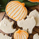 Pumpkin Spice Cut-Out Sugar Cookies