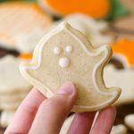 Pumpkin Spice Cut-Out Sugar Cookies: No dough chilling necessary for these spiced, soft cut-out sugar cookies that are perfect for decorating with icing and sprinkles. Crisp edges, soft centers, and completely customizable in shape!