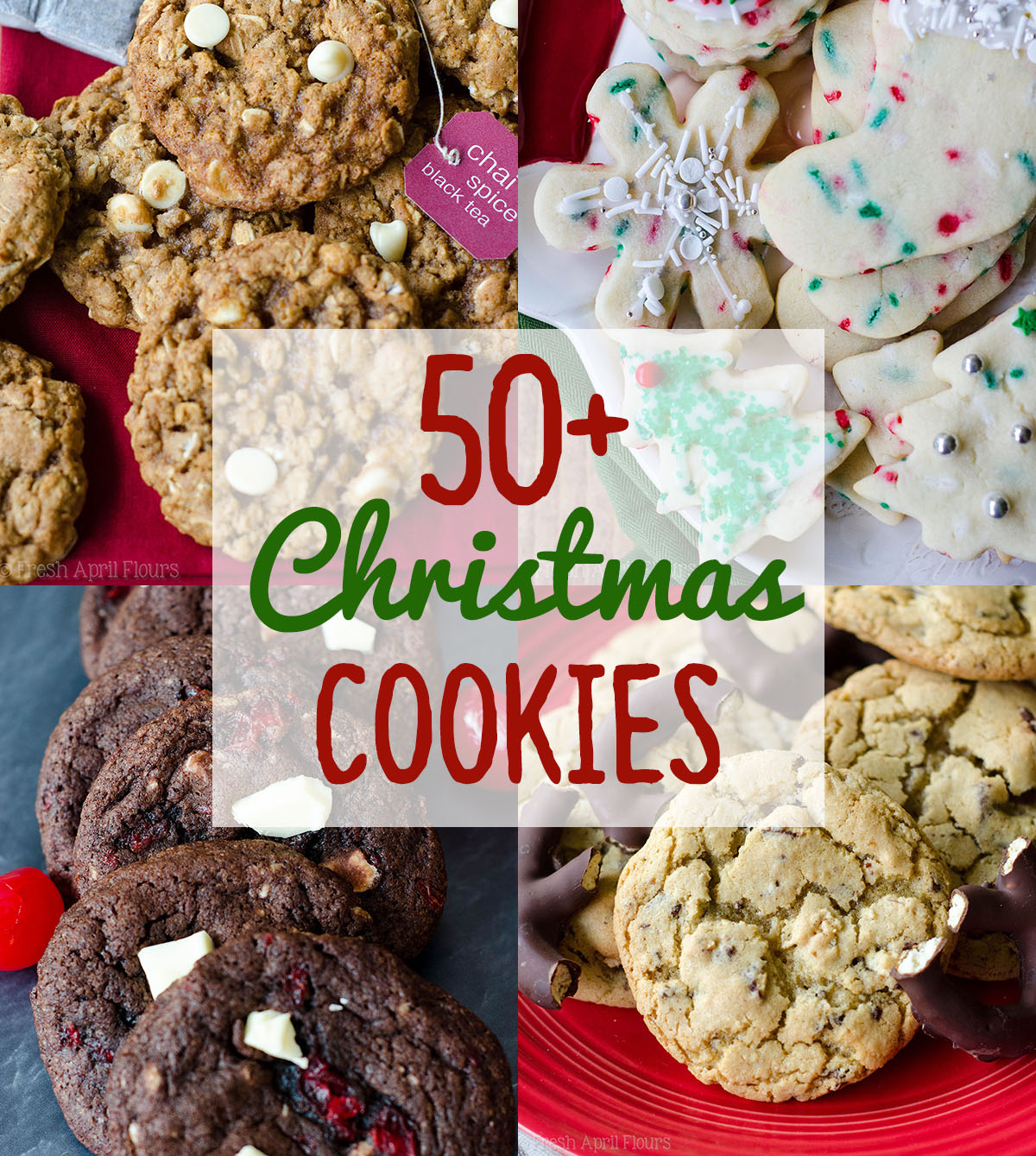 50+ Christmas Cookies from Fresh April Flours