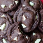 Chocolate White Chocolate Chunk Cookies