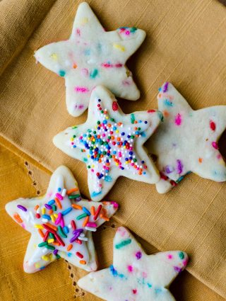 Funfetti Cut-Out Sugar Cookies