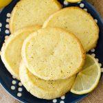 Lemon Pepper Slice & Bake Cookies