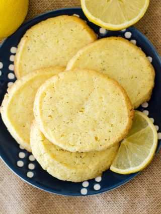 Lemon Pepper Slice & Bake Cookies + GIVEAWAY