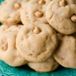 Ultimate Peanut Butter Cookies: Basic peanut butter cookies made with crunchy peanut butter and filled with peanut butter chips. Perfect for the peanut butter lovers in your life!