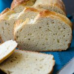 Italian Anise Bread: A sweet yeast bread with a tender crumb, flavored with anise extract and dotted with anise seeds.