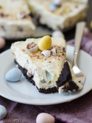No Bake Mini Egg Pie