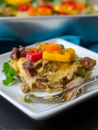 Breakfast Enchilada Bake