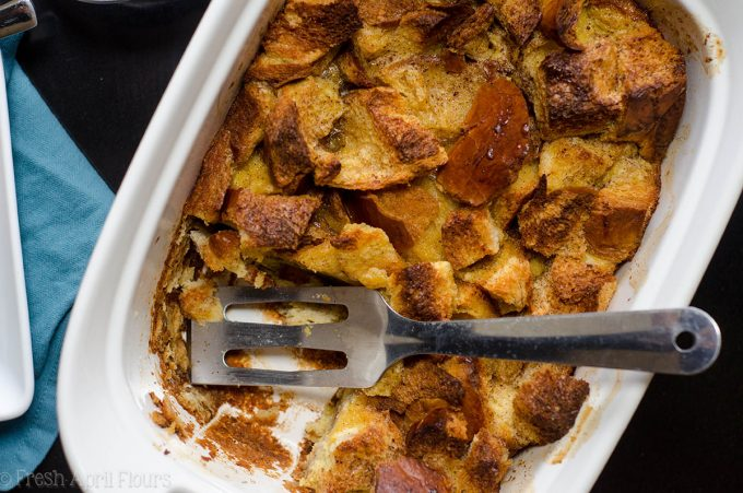 Make Ahead Overnight French Toast Casserole: One dish French toast casserole, easily prepped the night before and baked in the morning.