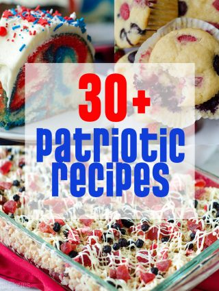 30+ Patriotic Recipes from Fresh April Flours