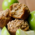 Apple Cinnamon Oat Streusel Muffins: Moist and tender muffins full of tart, chunky apples and topped with a melt-in-your-mouth cinnamon and oat streusel. A great staple muffin recipe for fall!