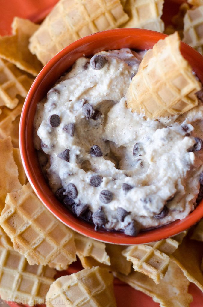 Cannoli Dip: All the taste you love from a cannoli without all the hard work of filling shells. Serve with broken waffle cone pieces for a deconstructed treat.