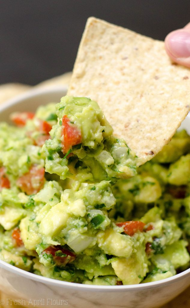 Homemade Guacamole: The secret to making amazing chunky guacamole at home is all in the tomato. Find out the best way to create delicious guac in your own kitchen!