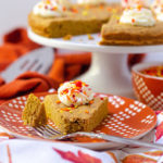 Pumpkin Cookie Cake