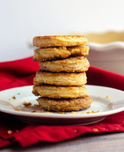 Pie Crust Cookies: Turn leftover pie crust into something worthwhile-- perfect for dipping!