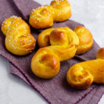 St. Lucia Saffron Buns: Traditional soft and fluffy Swedish holiday buns infused with saffron.
