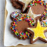 Chocolate Cut-Out Sugar Cookies