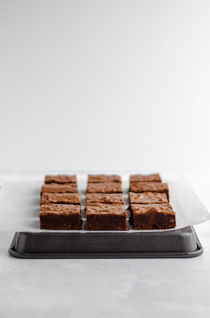 Homemade Fudgy Brownies: Dense and fudgy from-scratch brownies-- ditch the box forever!