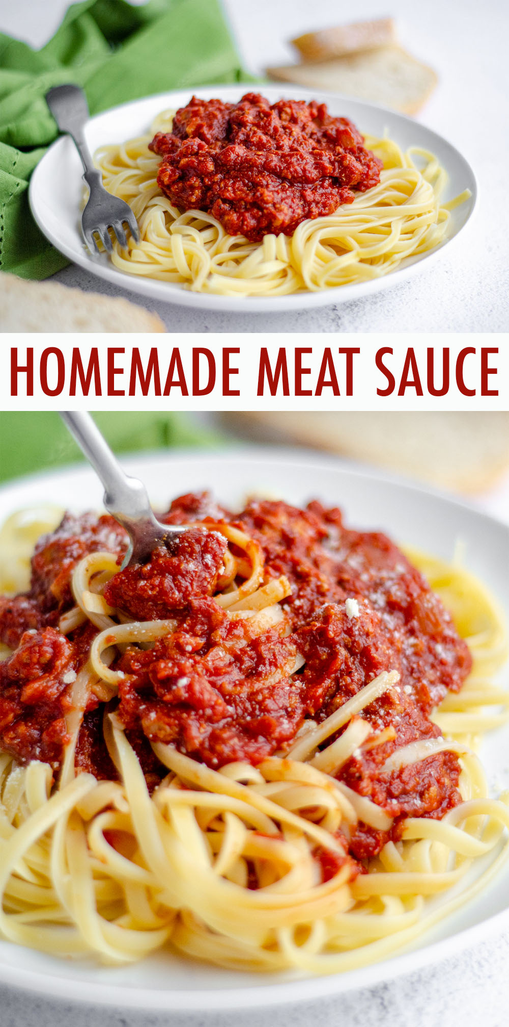 An easy homemade pasta sauce made with five simple ingredients. This recipe has been in my family for over a century and is a go-to for pasta dishes and lasagna or over vegetables or eggs.