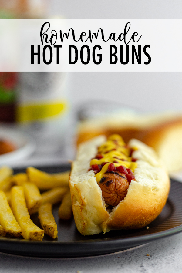 These easy homemade hot dog buns will be a new favorite addition to your cookout. This recipe makes 10, so you'll never be stuck with 2 extra buns ever again!